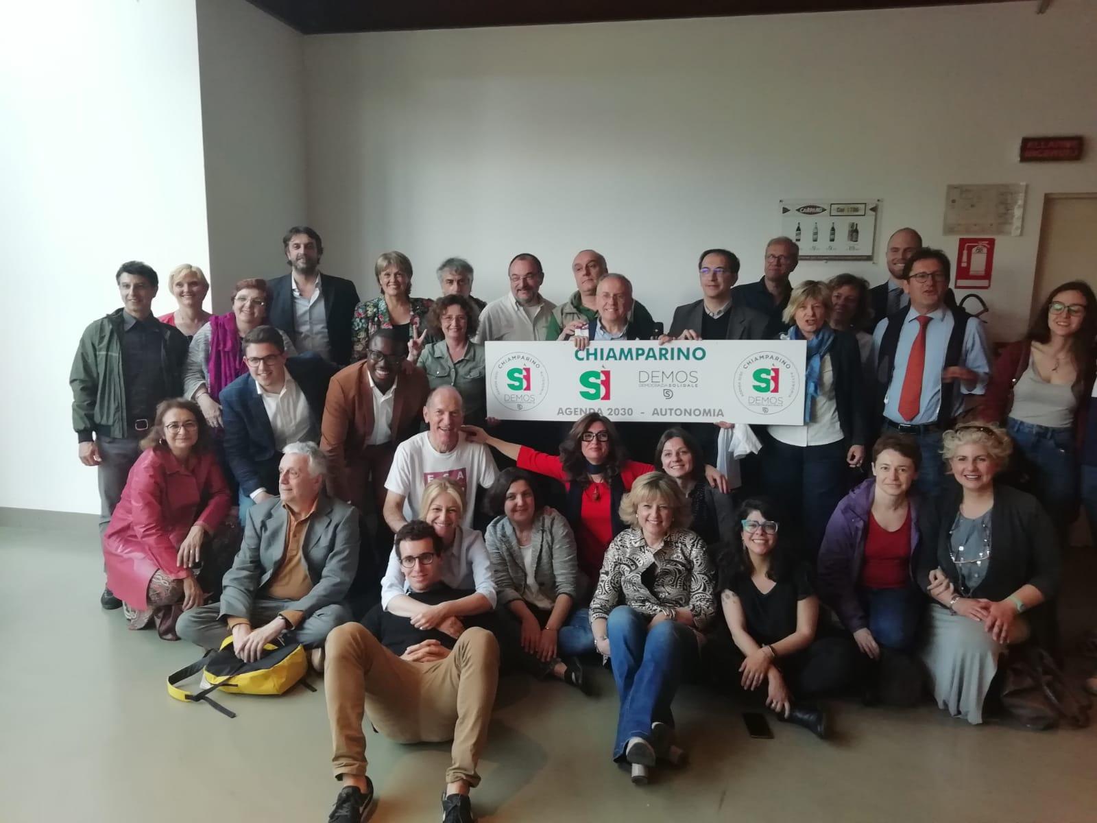demos democrazia solidale piemonte elezioni regionali 2019 candidati volontari