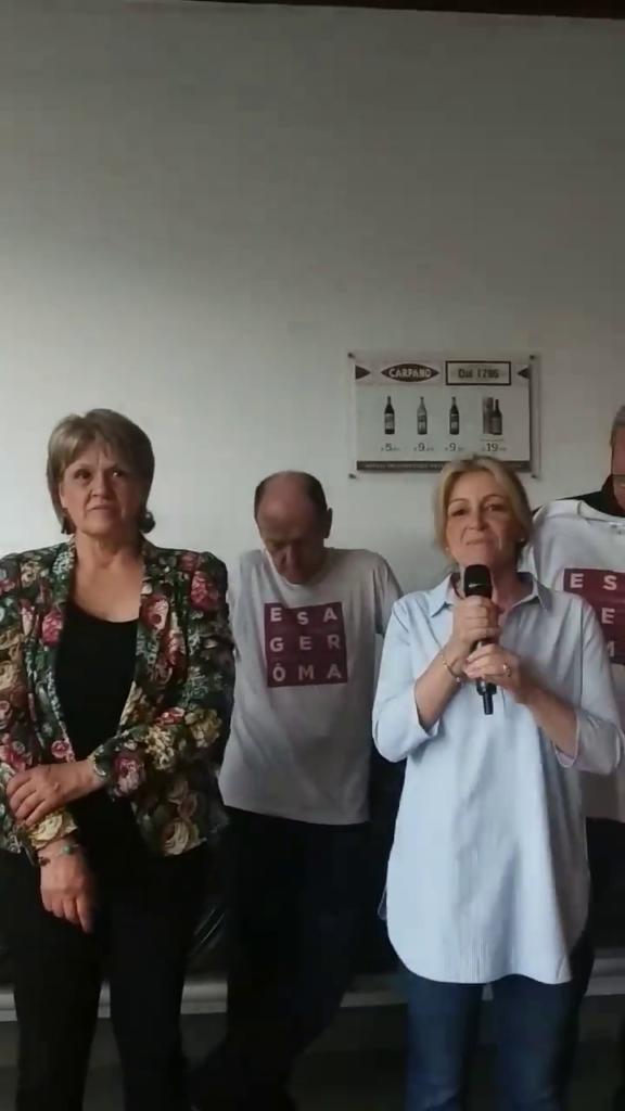 Il discorso dei candidati