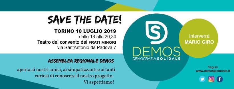 demos democrazia solidale piemonte assemblea regionale