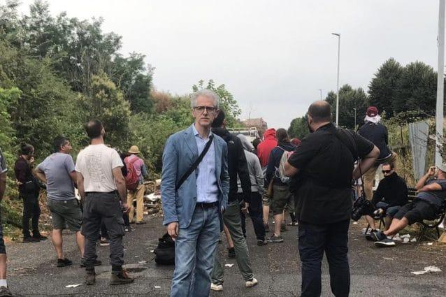 paolo ciani sgombero rom demos democrazia solidale piemonte