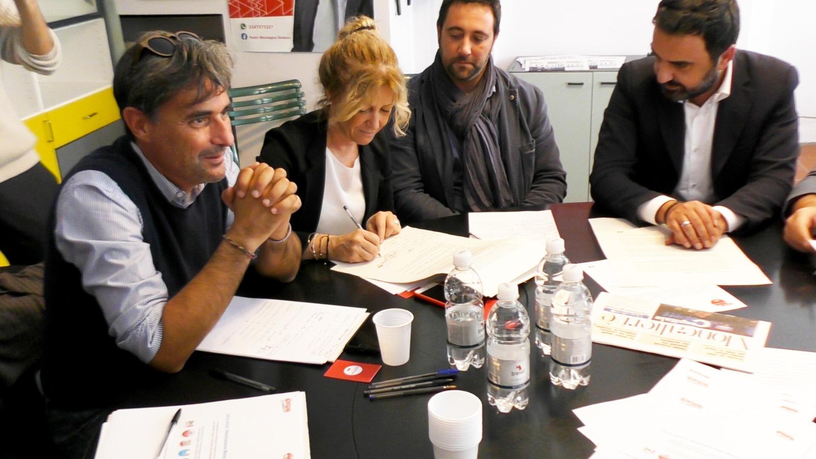 elena apollonio paolo montagna demos moncalieri elezioni 2020 piemonte