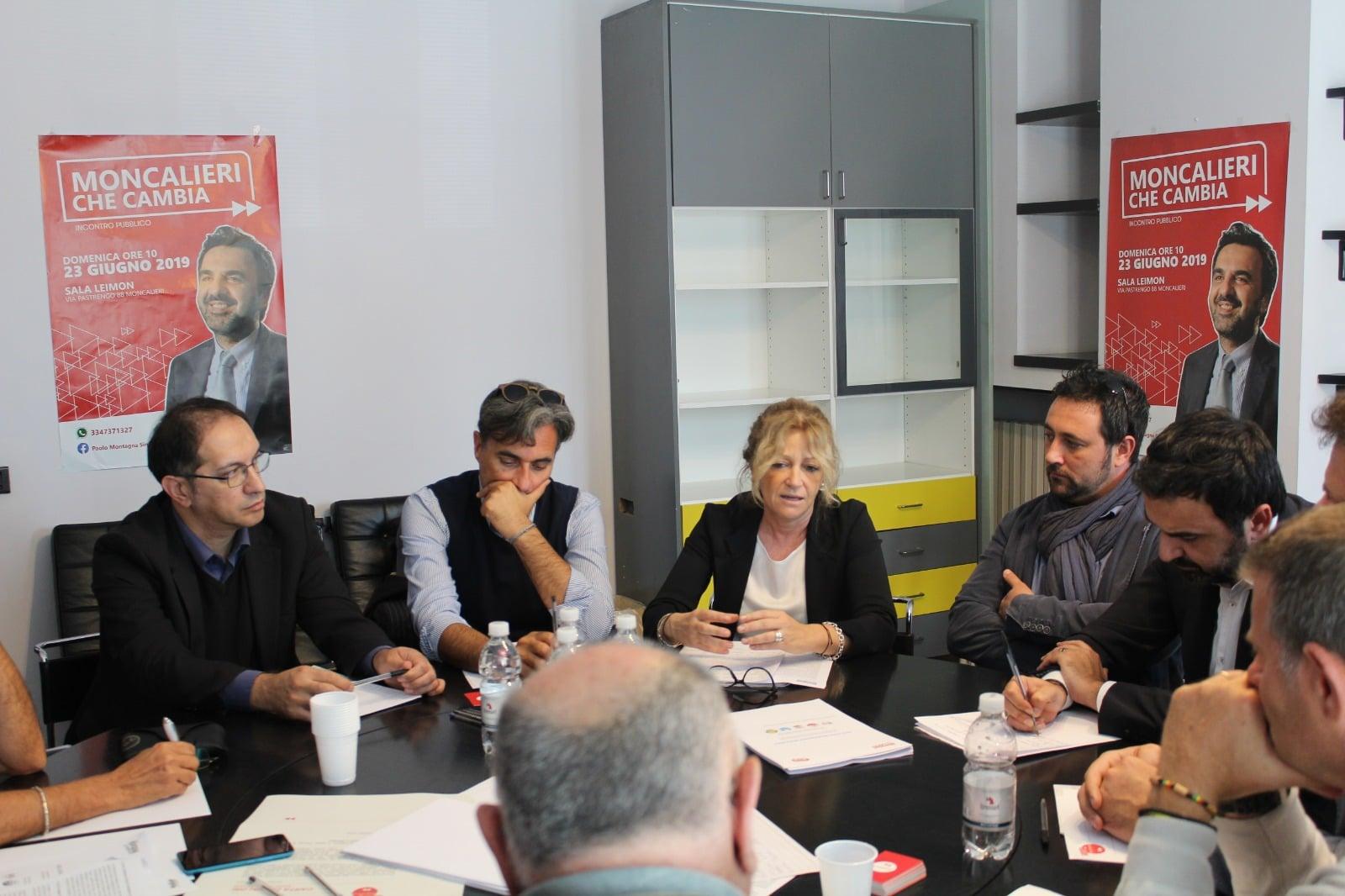 Incontro DemoS SIndaco Moncalieri