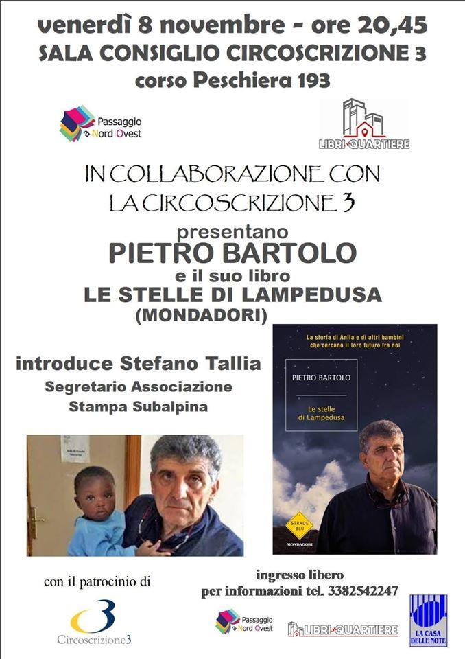 Pietro Bartolo stelle di lampedusa torino demos democrazia solidale