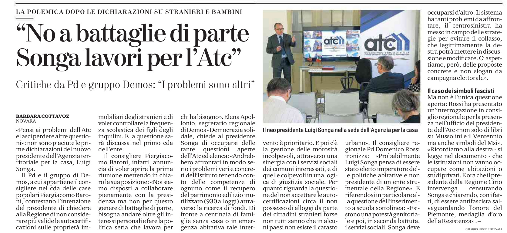 Demos ATC Baroni Apollonio