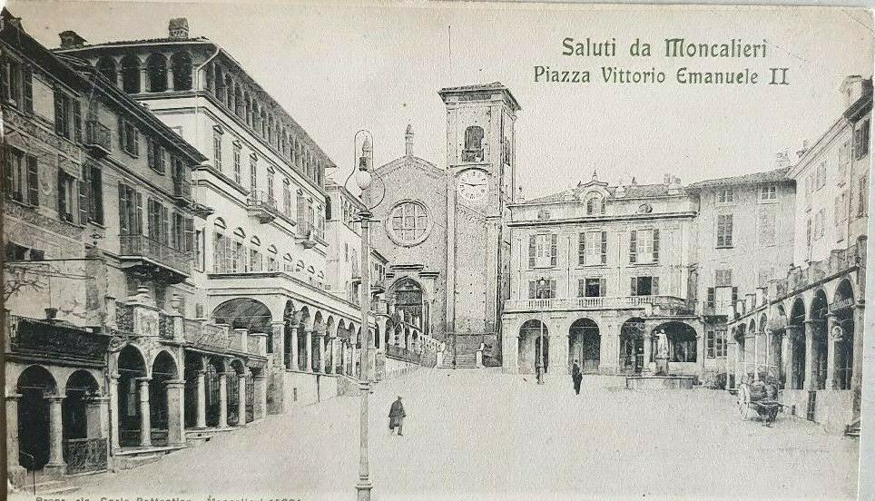 DemoS volantinaggio piazza Vittorio Emanuele II Moncalieri
