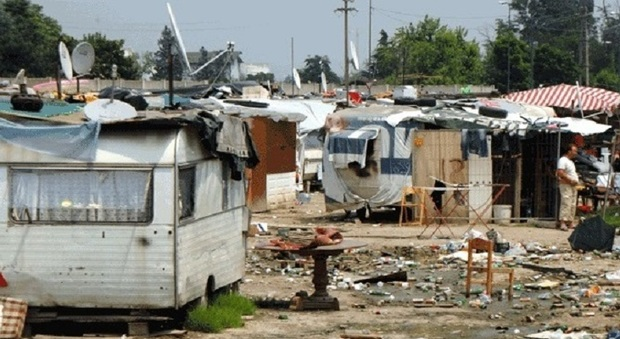 campo rom via germagnano