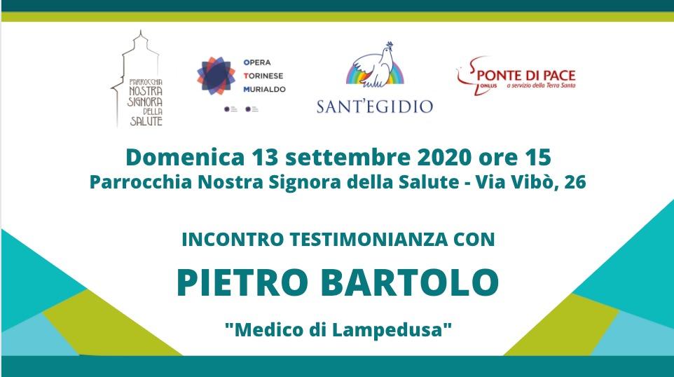 Pietro Bartolo a Torino